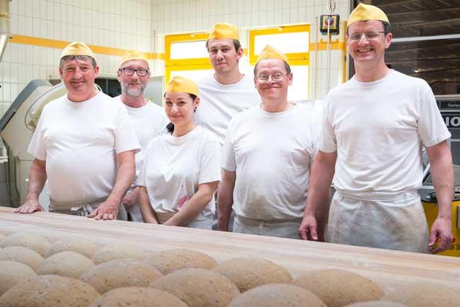 heger gruppenbild - Bäckerei Heger - Immenstaad