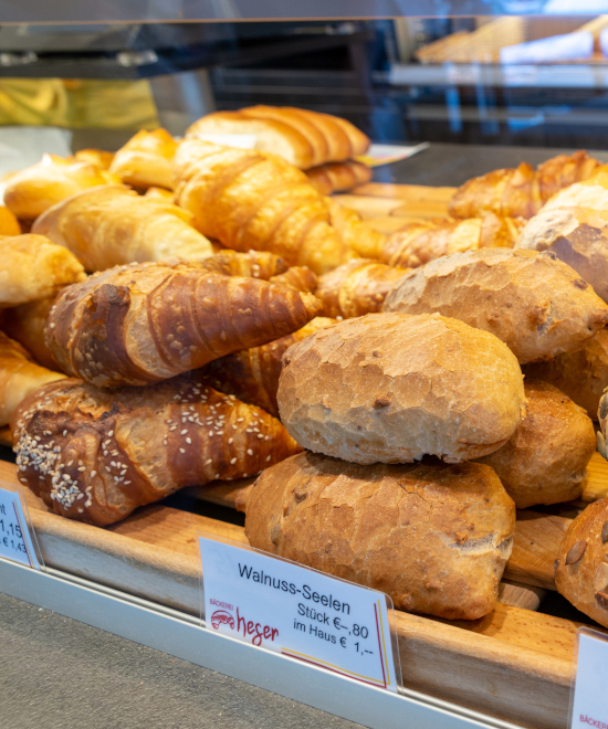 Heger startseite sortiment - Bäckerei Heger - Immenstaad