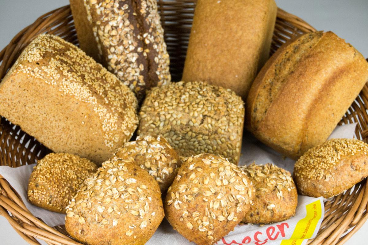 Sortiment Vollkorn - Bäckerei Heger - Immenstaad