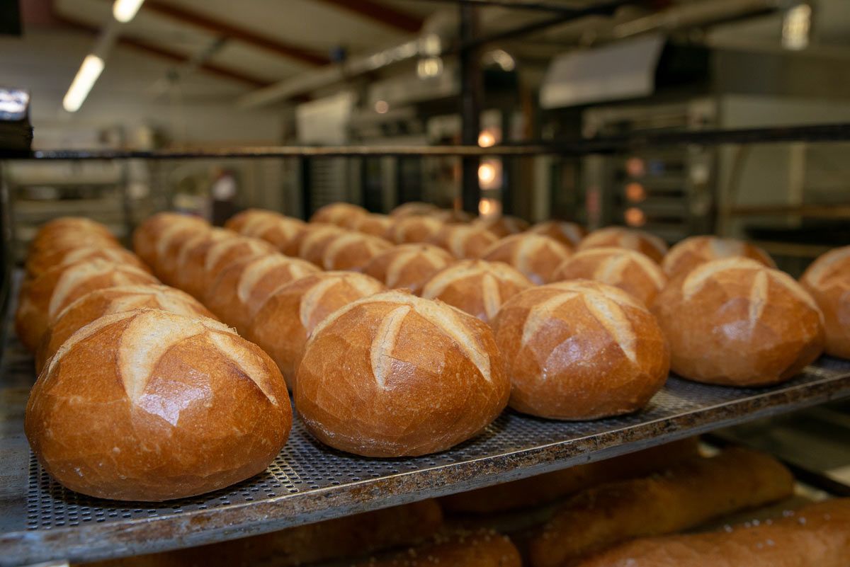 Sortiment frische brötchen - Bäckerei Heger - Immenstaad